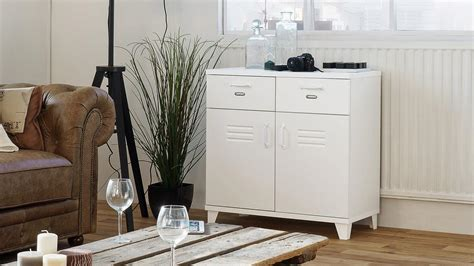 kommode factory kommode factory 3 spind sideboard 2 t 252 rig wei 223 80x80 cm
