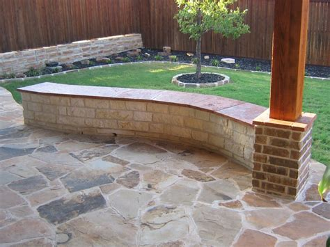 retaining wall bench retaining wall with bench 12 white austin chopped stone
