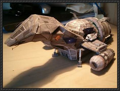 Papercraft Spaceship - firefly firefly class transport spaceship serenity ver 2