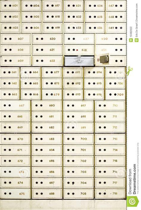 Safety Box Bank Mandiri Antique Safe Deposit Boxes Stock Photos Image 10482053