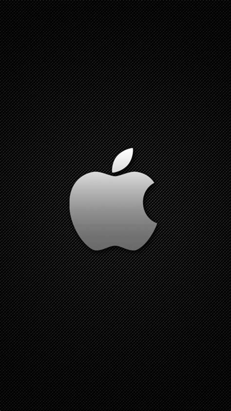 cool apple logo 17 iphone 5 wallpapers top iphone 5 apple logo carbon grid cool iphone 5 wallpaper hd free