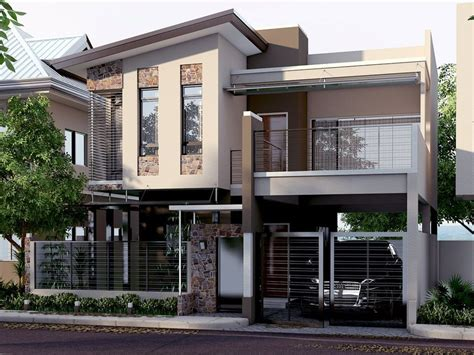 modern house design in pinoy with attic nomeradona sketchup vr mini quot the quot series 13 modern house by jonald magistrado