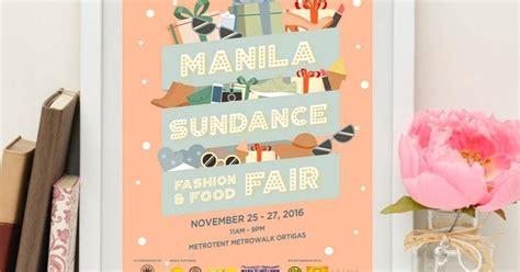 Chic And Food At Sundance by Manila Shopper Manila Sundance Fashion Food Fair At