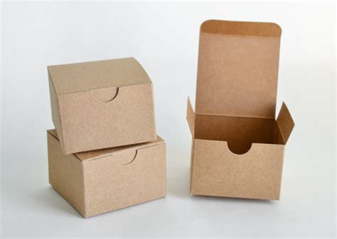 Favor Boxes by Small Gift Boxes 10 Kraft Boxes Favor Boxes Paper