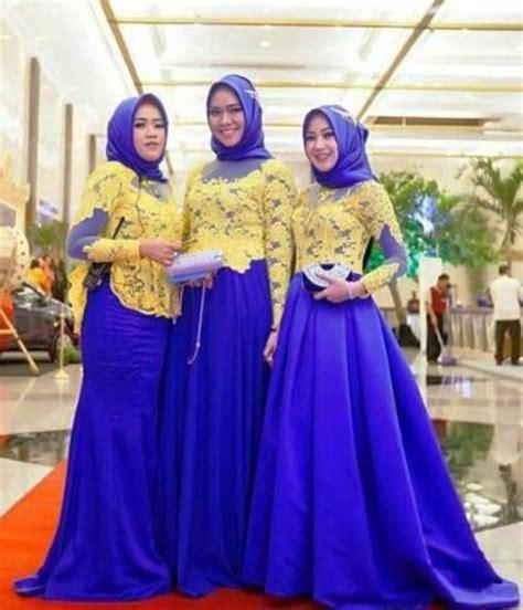 Batik Seragam Nikah Inspirasi Kebaya Seragam Untuk Pesta Pengantin Terlihat