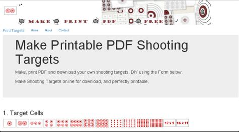 make your own printable shooting targets get creative design your own custom pdf targets 171 daily