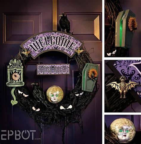 haunted mansion decor disney inspired pinterest haunt you disney side by jen y haunted mansion