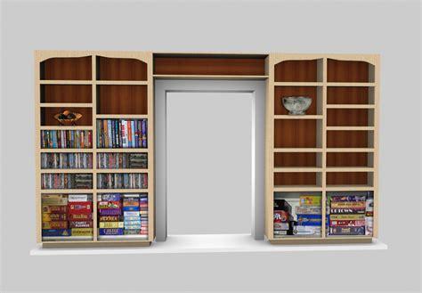 Book Cabinet by Cabinet Design Software Sketchlist 3d Rendering