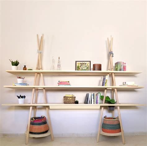 Kitchen Decorating Idea by Insightful Tipi Modular Shelving System Evoking The Spirit