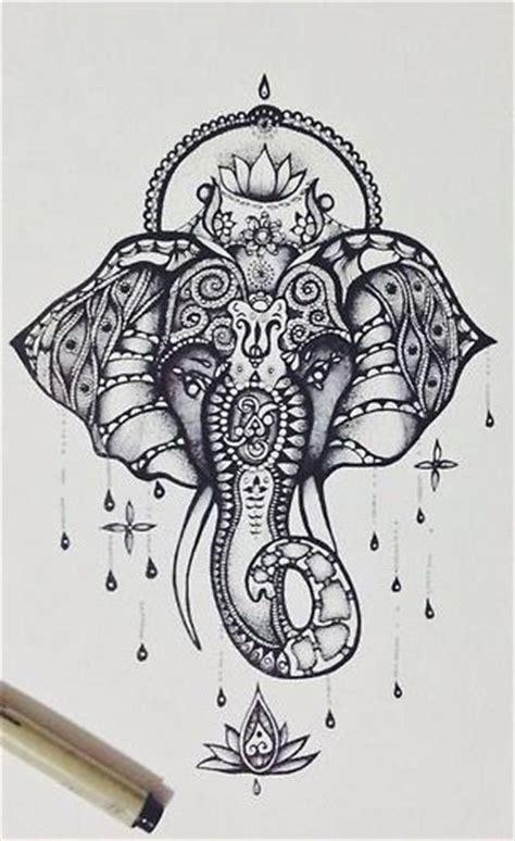 tattoo elefante ganesh significato elefante mandalas mandalas pinterest ganesha tattoo