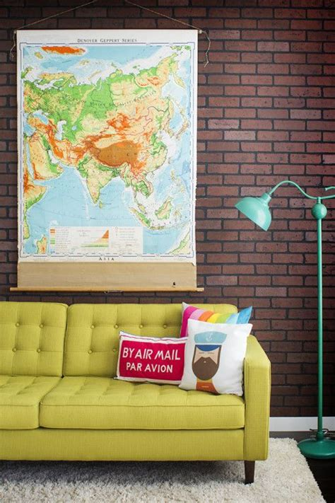 map home decor ideas to decorate your home with maps one decor