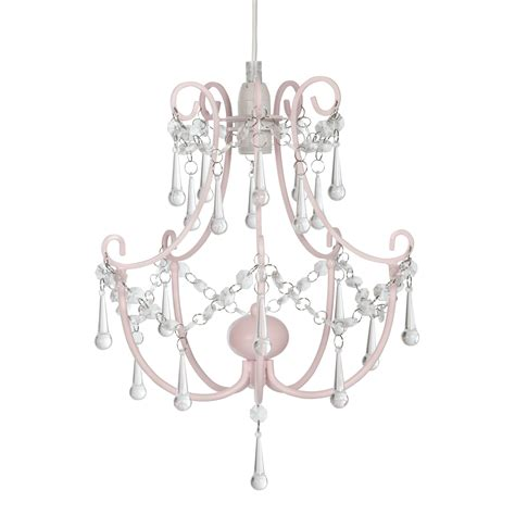 Easy Fit Chandelier rosie easy fit pink chandelier at