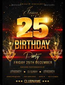 spectacular birthday flyers template 24 download