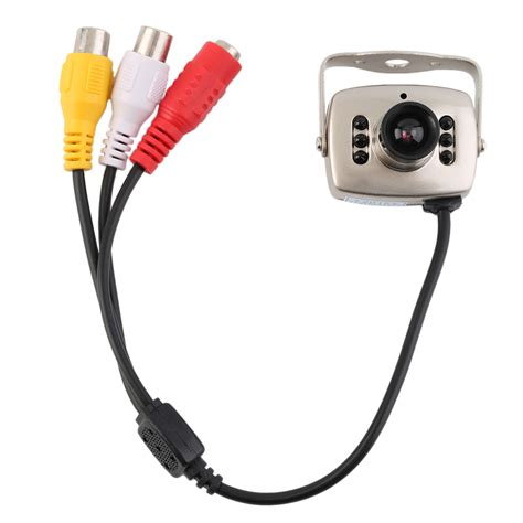 Lu Infrared Ir Wired Cctv Mini Security Color Infrared