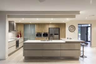 Kitchen Designed Kitchen Renovation Brisbane With Caesarstone Benchtops And White Macubus Quarzite