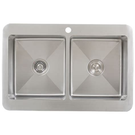 ticor tr1800 overmount stainless steel bowl kitchen sink