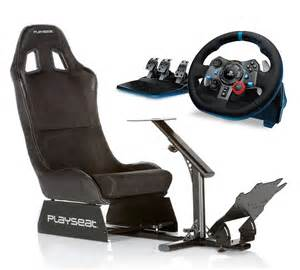 Ps4 Steering Wheel And Pedals Seat Playseat Evolution Alcantara With Improved Pedal Plate