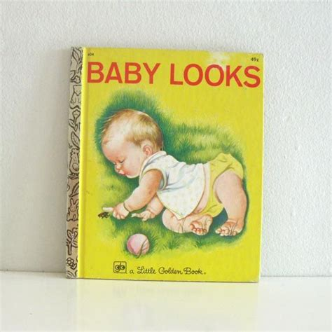 springtime babies golden book books vintage golden book baby looks eloise wilkin