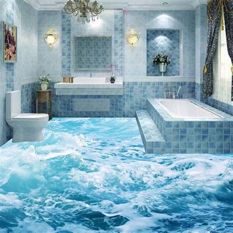 3d look 3d wall tiles wave uv surface 3d tile and linear