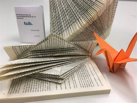 book origami tuhh library news archives library