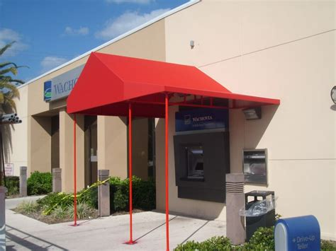 awning installers awning installations for wells fargo bank awning