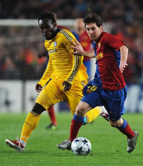 chelsea vs barcelona 2009 lionel messi in barcelona v chelsea uefa chions