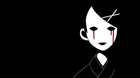wallpaper anime hitam putih sad wallpapers