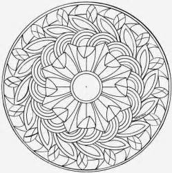 how to color mandalas printable coloring pages