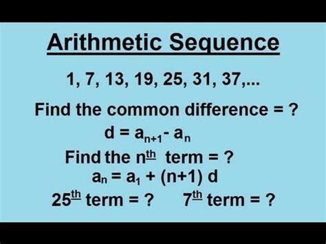 recursive pattern questions algebra 1 arithmetic sequences lumos learning