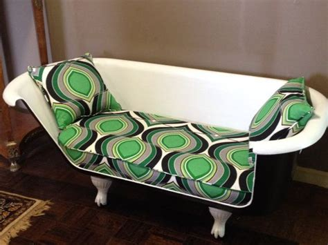 clawfoot bathtub couch antique clawfoot cast iron tub sofa couch loveseat painted