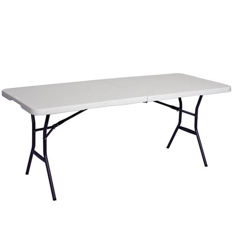 6 Ft Folding Table 6 Ft Showgoer Folding Table Foldable Tables Trade Show Accessories