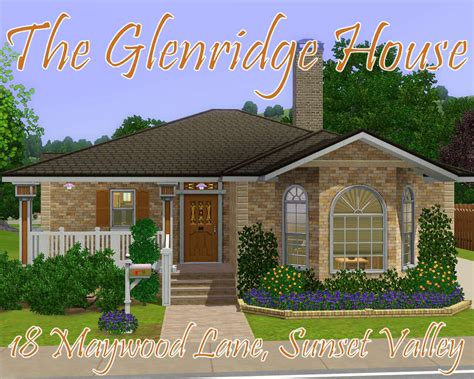 mod the sims glenridge hall the mansion from tv series the mod the sims the glenridge house 18 maywood lane