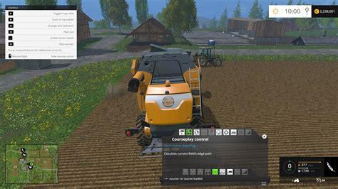 courseplay mp v1 for ls15 farming simulator 2015 15 mod