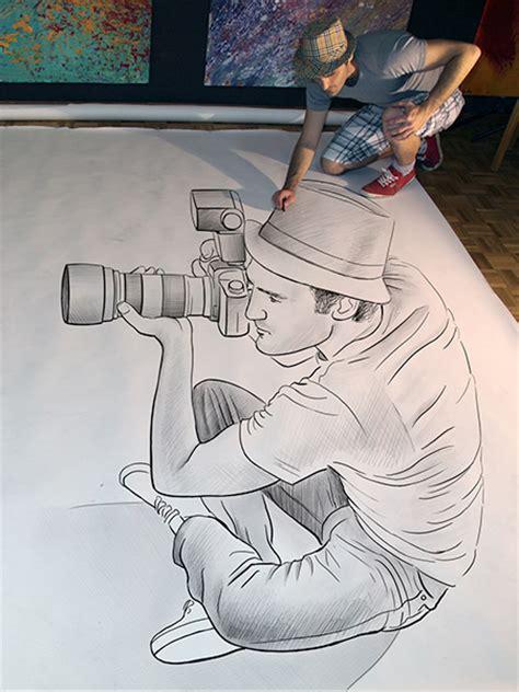 cool 3d pencil drawings creative 3d pencil drawings by ben heine vuing com