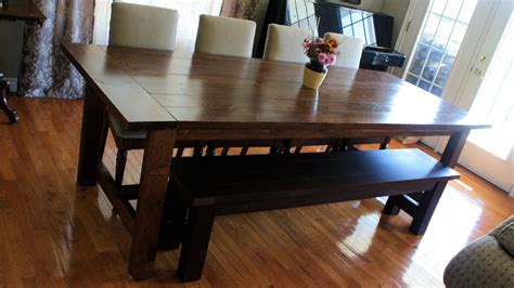 dining table with bench seats popular building a seat for kitchen dining table bench seats youtube