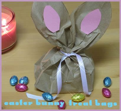 Paper Bag Bunny Craft - paper bag easter bunny craft kidpep