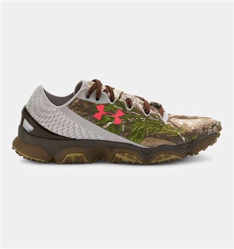 women s ua speedform 174 xc camo trail running shoes
