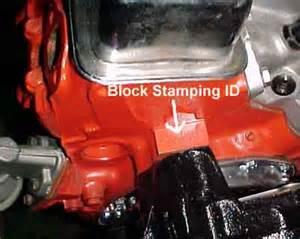 chevy engine identification numbers decoder autos weblog