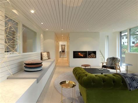 Saunders Interiors by Impressive Scandinavian Home With Modern Interiors
