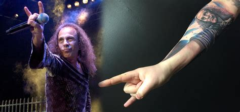 this ronnie james dio tattoo is the greatest tattoo ever
