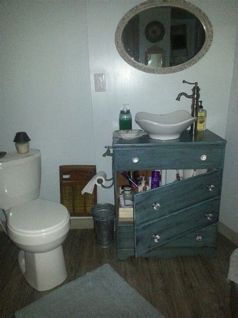 bathroom vanities from old dressers bathroom vanity from old dresser i like how the drawers