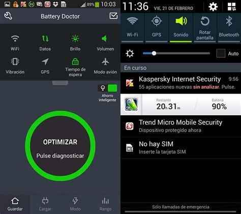 battery doctor android tu ayuda android battery doctor para android controla la energ 237 a de tu m 243 vil