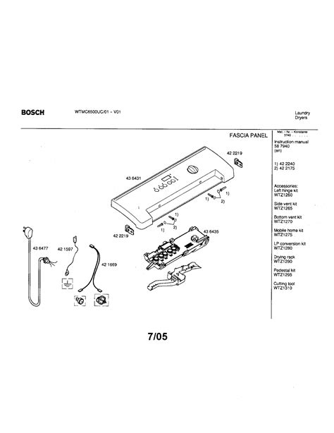 bosch dryer parts diagram bosch dryer parts model wtmc6500uc01 sears partsdirect