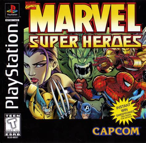 emuparadise game ps1 marvel super heroes iso