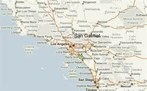 san gabriel california map gu 237 a urbano de san gabriel