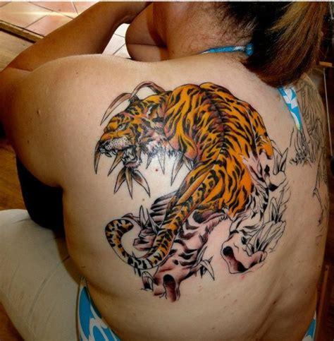 nas tattoos tigre tigre nas costas tigre nas