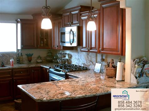 cabinets with granite cherry cabinets with granite countertopzeus remodeling
