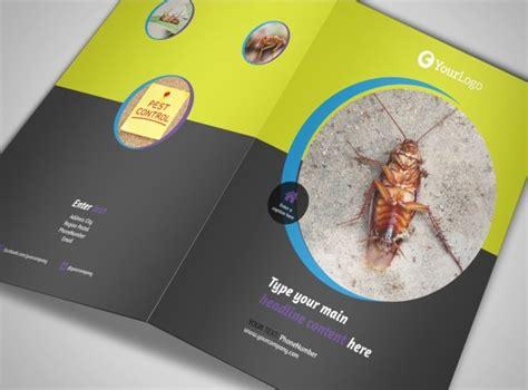 Pest Control Services Bi Fold Brochure Template Pest Brochure Template