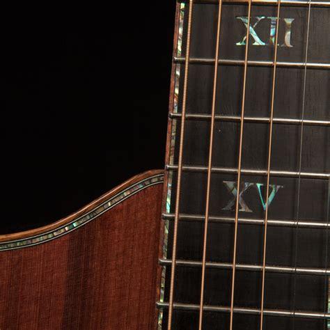 Purfling Abalone ukulele and guitar custom fretboards lichty guitars