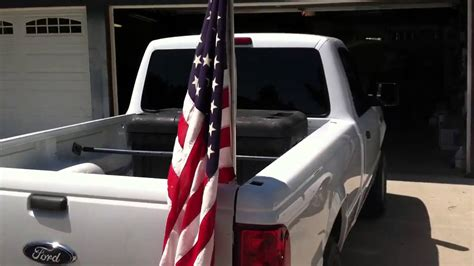 flags for truck beds american flags in my truck bed youtube